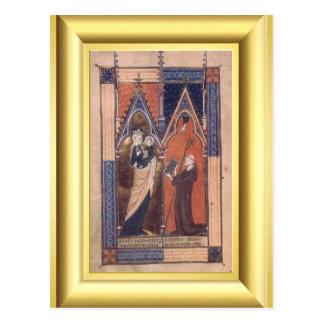 中世洗礼 ポストカード