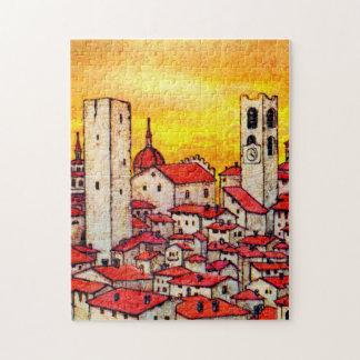 中世町のパズル ジグソーパズル