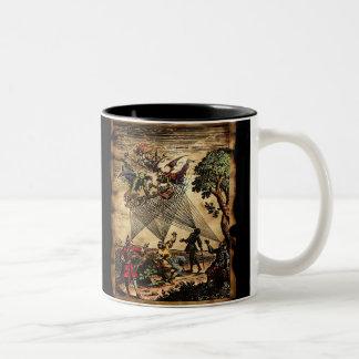 中世精神の吟遊詩人 ツートーンマグカップ