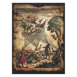 中世精神の吟遊詩人 テーブルクロス