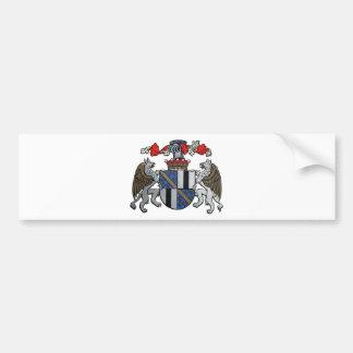 中世紋章付き外衣 バンパーステッカー