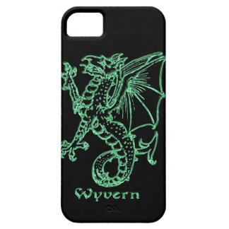 中世紋章学のワイバーン iPhone SE/5/5s ケース