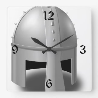 中世舵輪 スクエア壁時計