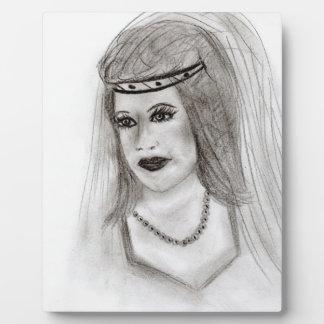 中世花嫁 フォトプラーク