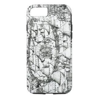 中世軍の野営、本から、パブ。 18 iPhone 8/7ケース