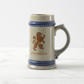 中世金ゴールドのライオン500年 ビールジョッキ