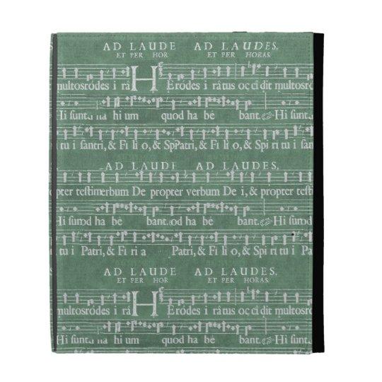 中世音楽原稿iPadの場合