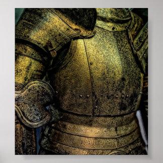 中世騎士の装甲 ポスター