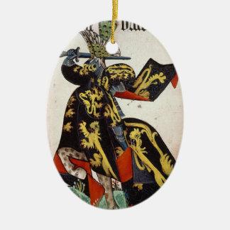 中世騎士オーナメント セラミックオーナメント