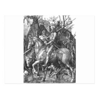 中世騎士 ポストカード