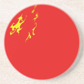 中国のすごい旗 コースター
