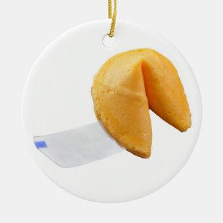 中国のなおみくじ入りクッキー- SRF セラミックオーナメント
