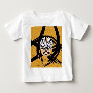 中国のなオペラポップアート! ベビーTシャツ