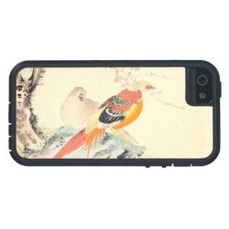 中国のなキジのImao Keinenの鳥および桜 iPhone SE/5/5s ケース