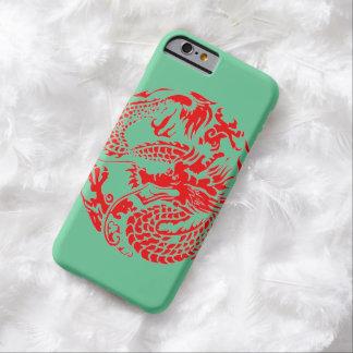 """""""中国のなドラゴンの電話箱"""" BARELY THERE iPhone 6 ケース"""