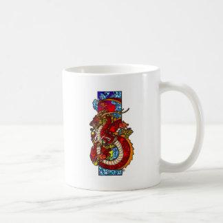中国のなドラゴン コーヒーマグカップ