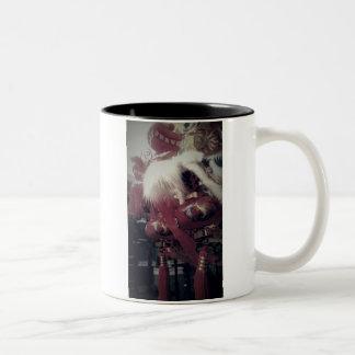 中国のなドラゴン ツートーンマグカップ