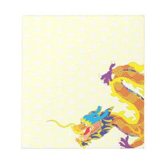 中国のなドラゴン ノートパッド