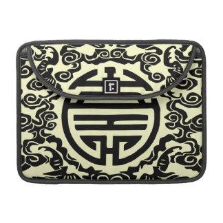 中国のなモチーフのMacbook Macbookのプロ折り返しの袖 MacBook Proスリーブ