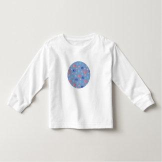 中国のなランタンの幼児の長袖のTシャツ トドラーTシャツ