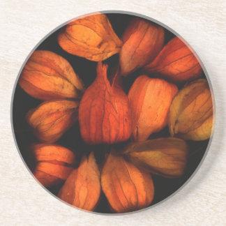 中国のなランタン(Physalis)のフルーツのコースター コースター