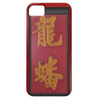 中国のな寺院のドア、シンガポール iPhone SE/5/5s ケース