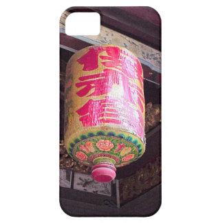 中国のな寺院のランタン、シンガポール iPhone SE/5/5s ケース
