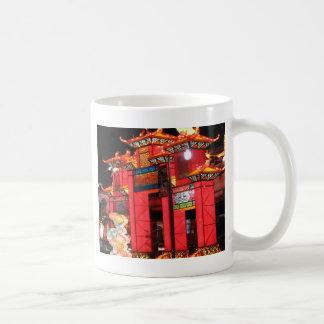 中国のな寺院 コーヒーマグカップ