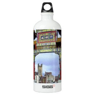 中国のな帝国アーチ、リヴァプールイギリス ウォーターボトル