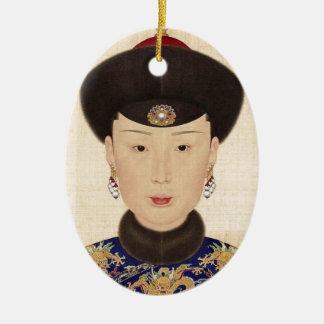 中国のな帝国配偶者 セラミックオーナメント