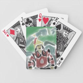 中国のな戦士カード バイスクルトランプ