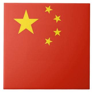 中国のな旗のタイル タイル