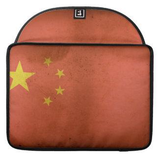 """中国のな旗15"""" MacBookのプロ袖 MacBook Proスリーブ"""