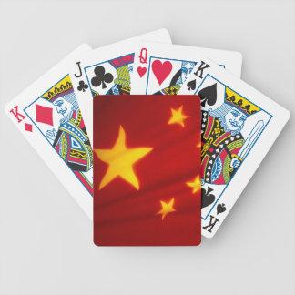 中国のな旗 バイスクルトランプ