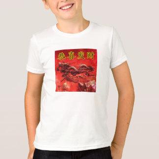 中国のな書道の絵画の旧正月 Tシャツ