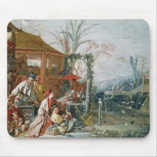 中国のな狩り、c.1742 マウスパッド