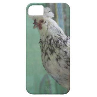 中国のな白黒ファンキーな鶏のダンス iPhone SE/5/5s ケース