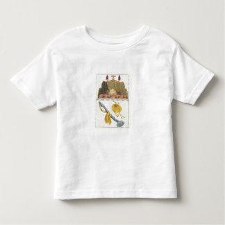 中国のな皇帝、ヨーヨーの王笏および帽子の王位 トドラーTシャツ