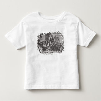 中国のな神秘家、記述からのイラストレーション トドラーTシャツ