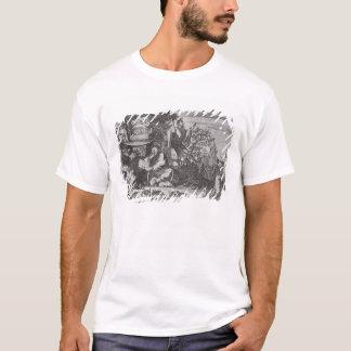 中国のな神秘家、記述からのイラストレーション Tシャツ
