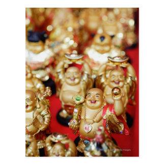 中国のな笑うBuddhas ポストカード