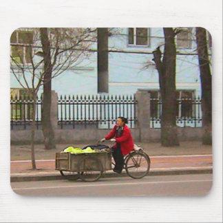 中国のな自転車- Kimchiのためのキャベツ マウスパッド