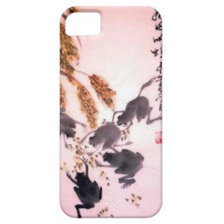 中国のな花、東洋のコレクション9 iPhone SE/5/5s ケース