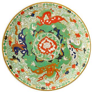 中国のな装飾用のデザイン 磁器プレート