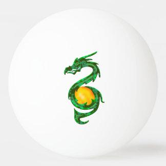 中国のな辰年のヒスイ緑 卓球ボール
