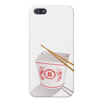 中国のな食糧は写実的な箱の箸を取ります iPhone 5 ケース