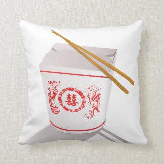 中国のな食糧carryoutの箸の枕 クッション