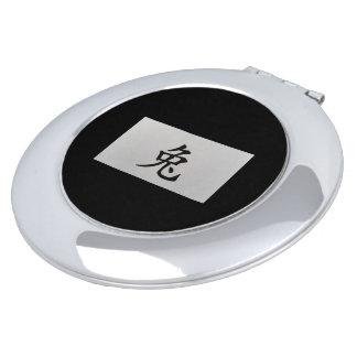 中国のな(占星術の)十二宮図の印のウサギの黒