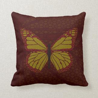 中国のな(昆虫)オオカバマダラ、モナークの枕 クッション
