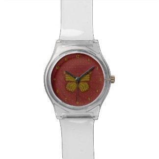中国のな(昆虫)オオカバマダラ、モナークMay28thの腕時計 腕時計